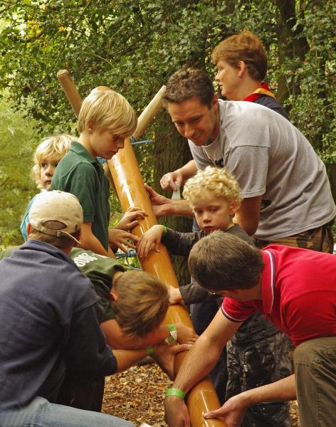 The Waterpipe Challenge, Parent & Child Camp 2011